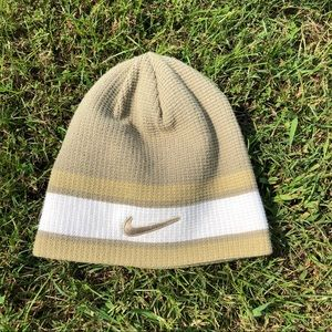 🎉Reversible Thick Knit Nike Beanie Hat